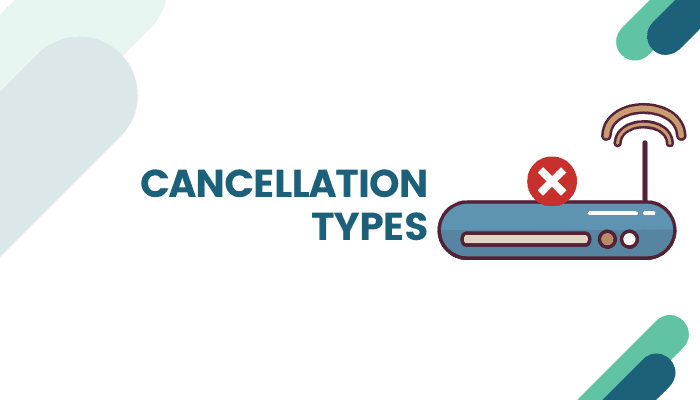 types of cancellation