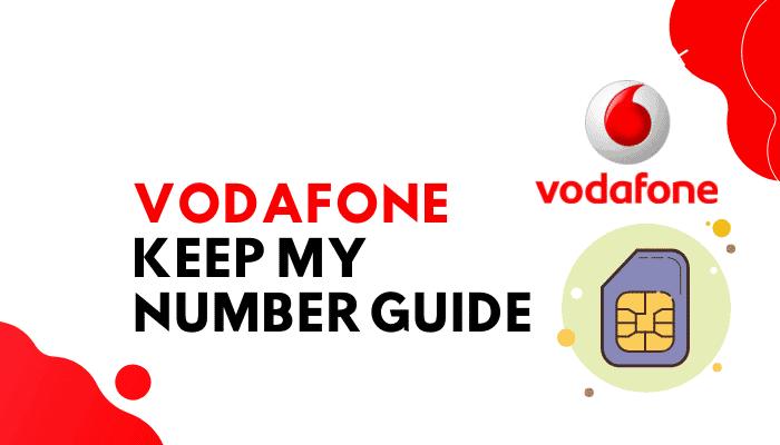 Vodafone Keep My Number : A Fool-Proof Formula