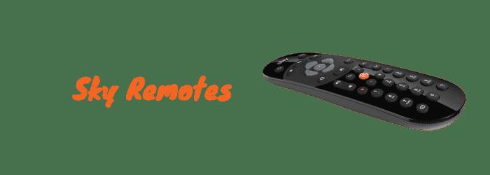 sky q remotes