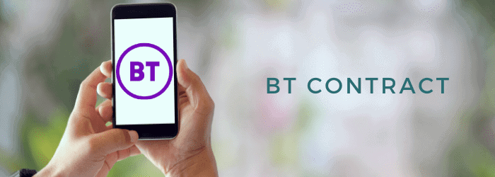 how long is my bt contract