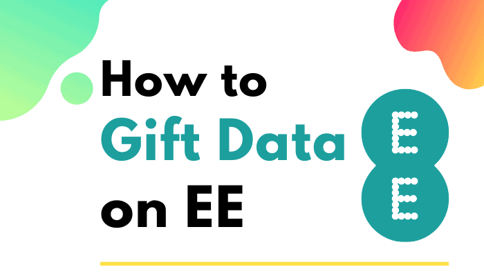 how to gift data on ee