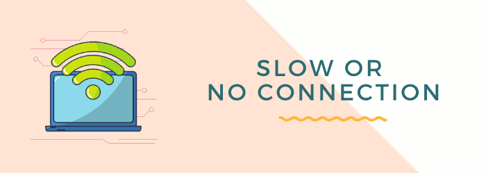 slow connection