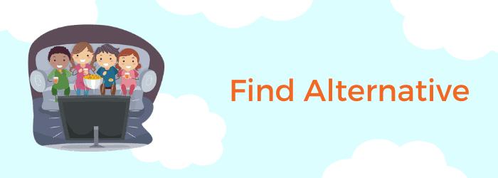 find alternatives