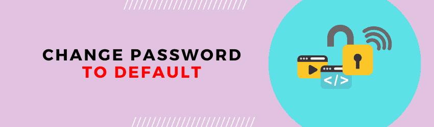 default sky wifi password