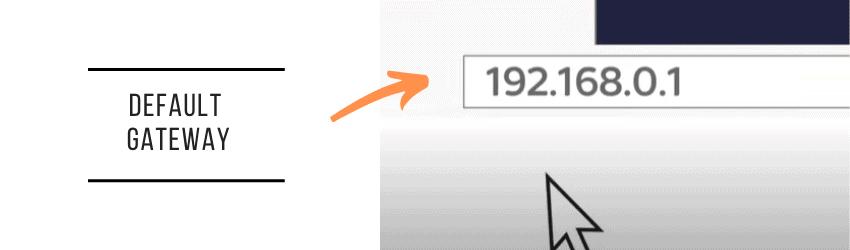 default ip