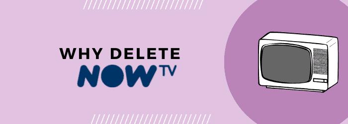delete my now tv account