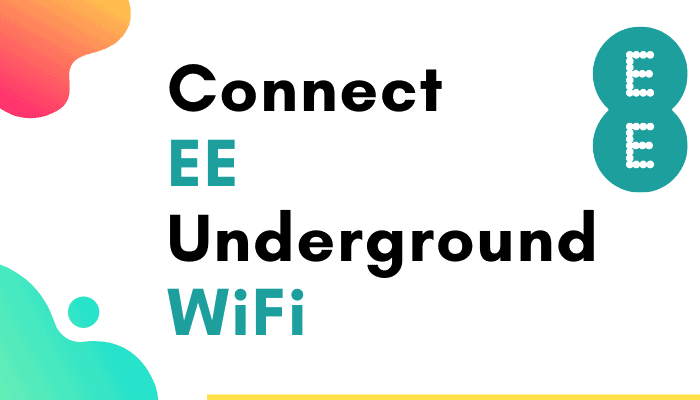 How To Connect To EE Underground WiFi