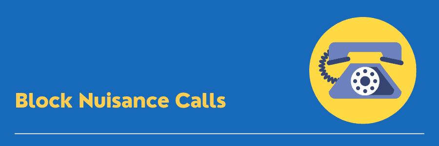 how to block nuisance calls on landline