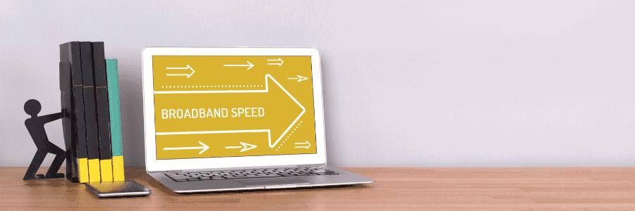 good ping speed for broadband