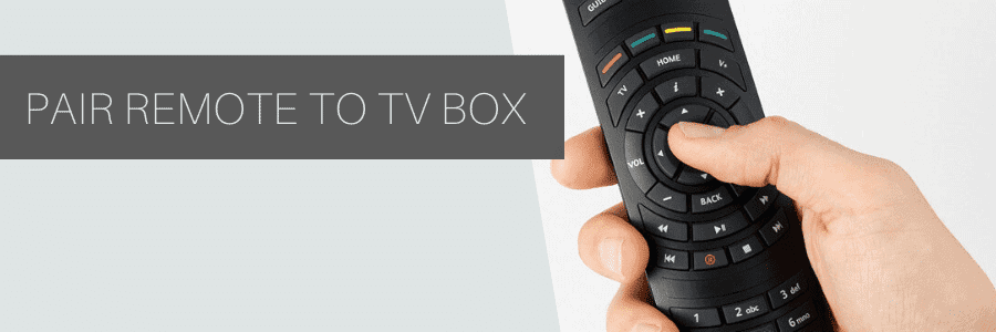 how to pair virgin remote to tv