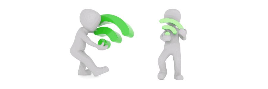 too many wifi users