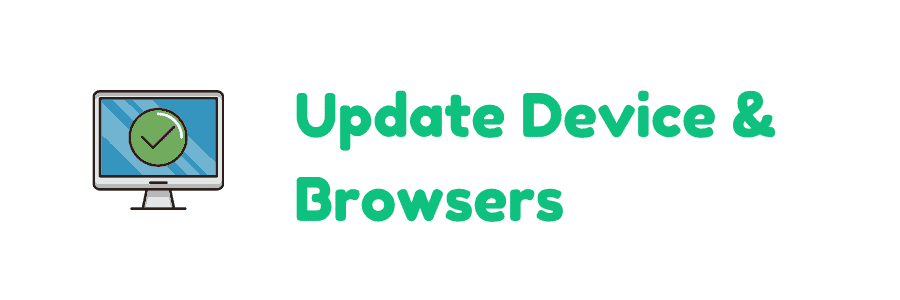 update device browers