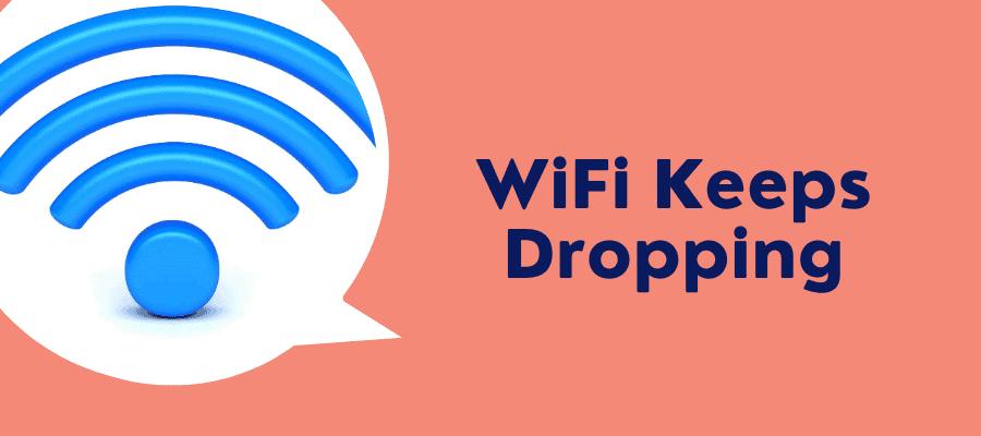 xfinity wifi keeps dropping