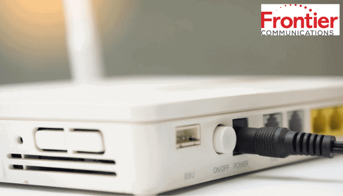 frontier router reset