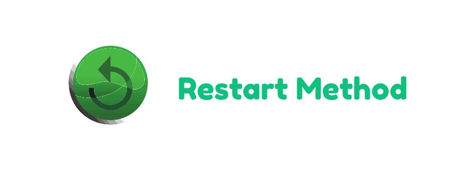 restart method