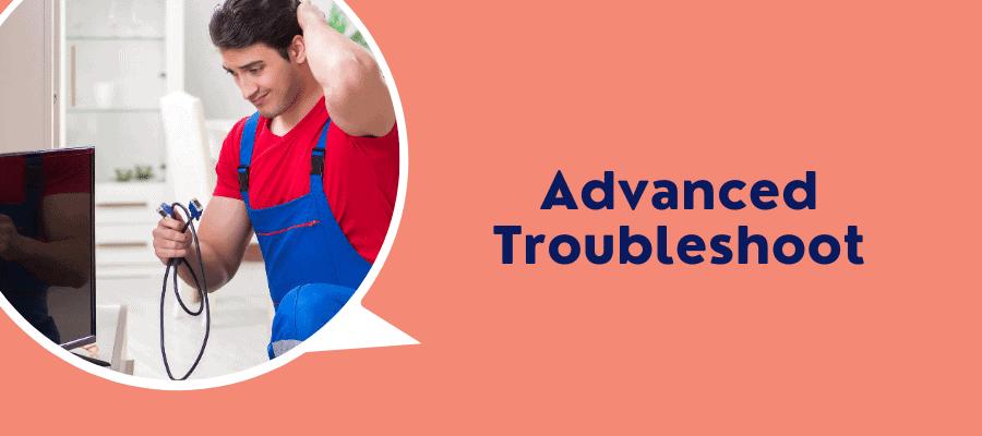 adv troubleshoot
