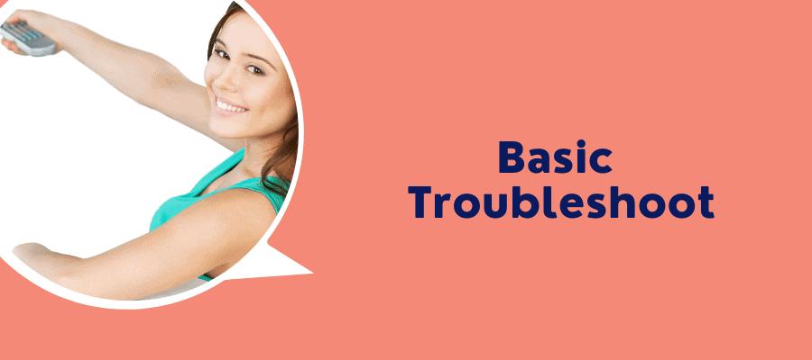 reboot troubleshoot basic