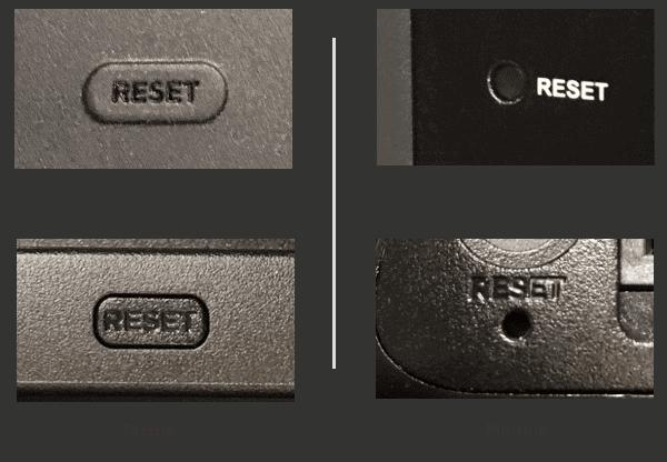 roku reset button
