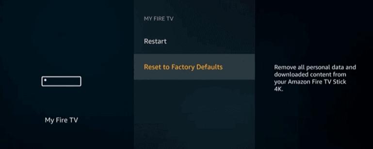 firestick settings