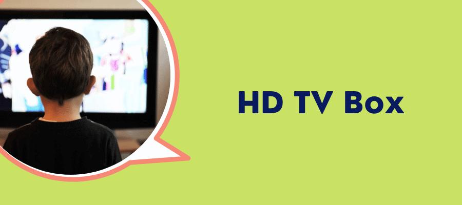 hd tv box xfinity