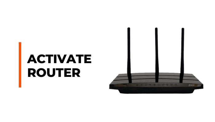 talktalk router activate