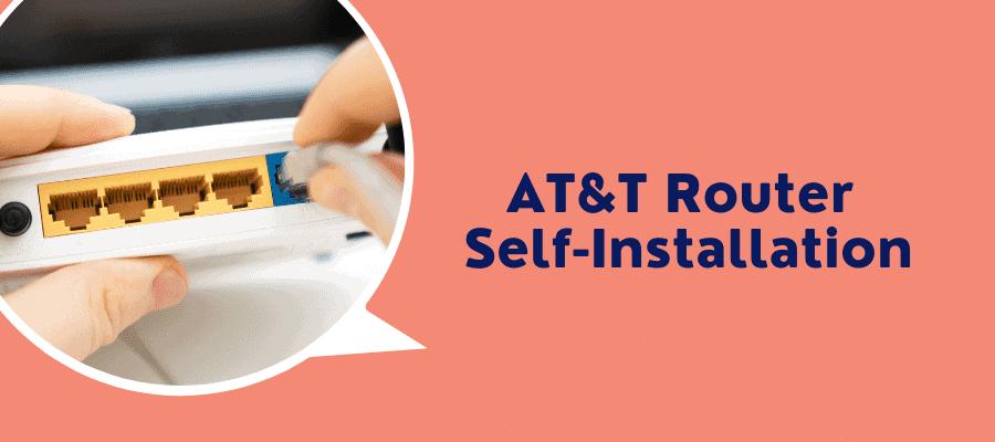 at&t self installation