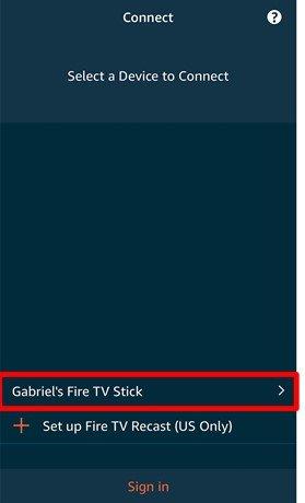 firestick connect