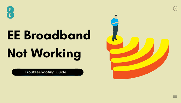 How to Fix EE Broadband Not Working Issue