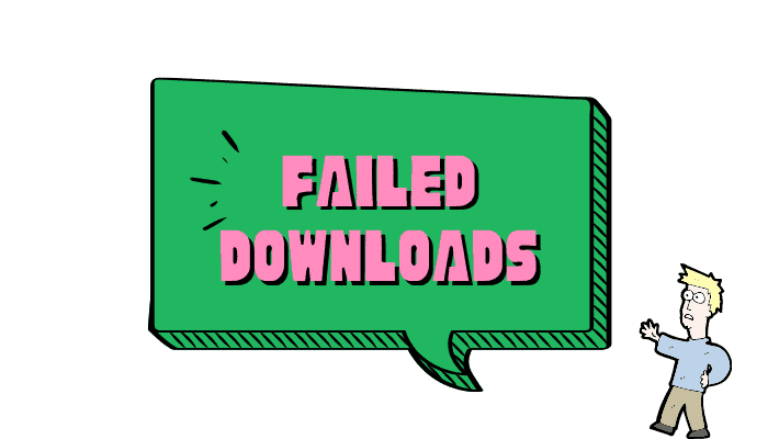 failed download issue