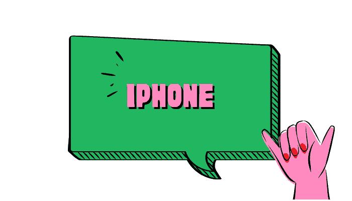 sky iphone data