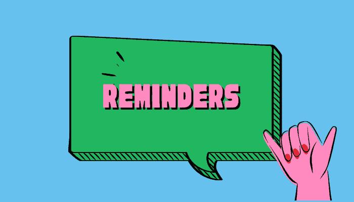 iplayer reminders