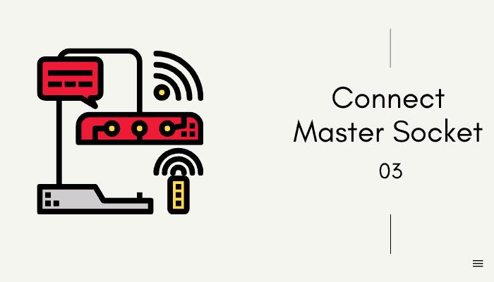 connect master socket