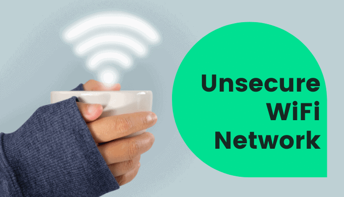 unsecure wifi network