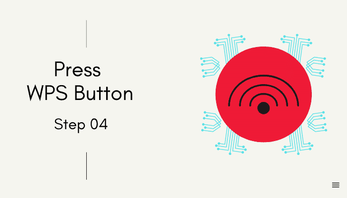 wps button on booster