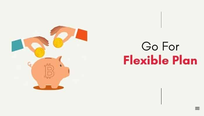 go flexible plan