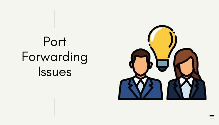sky port forwading issues
