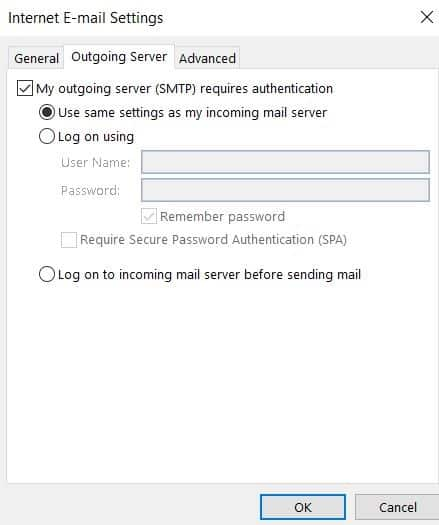 enable authentication
