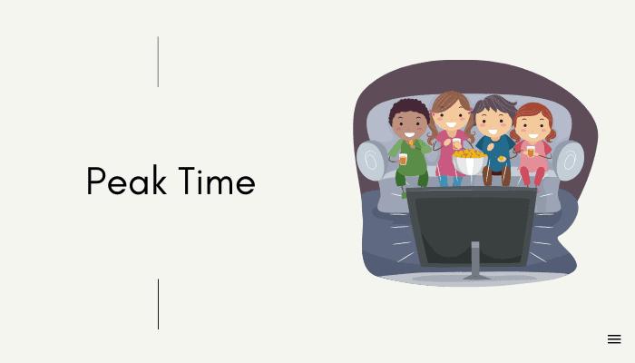 avoid peak time