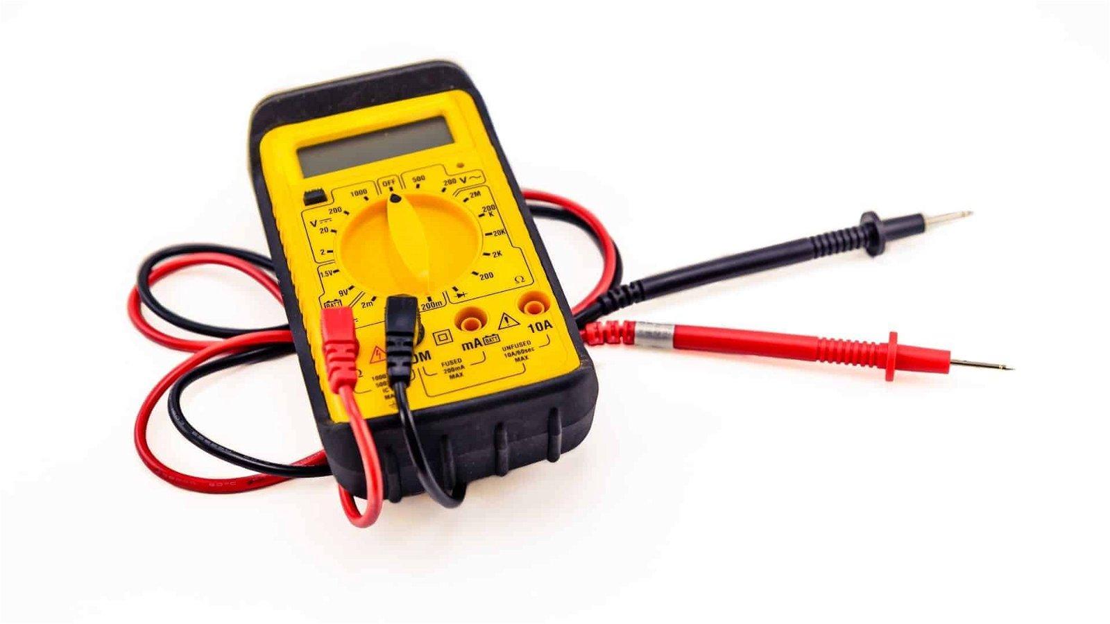 voltmeter to check phoneline