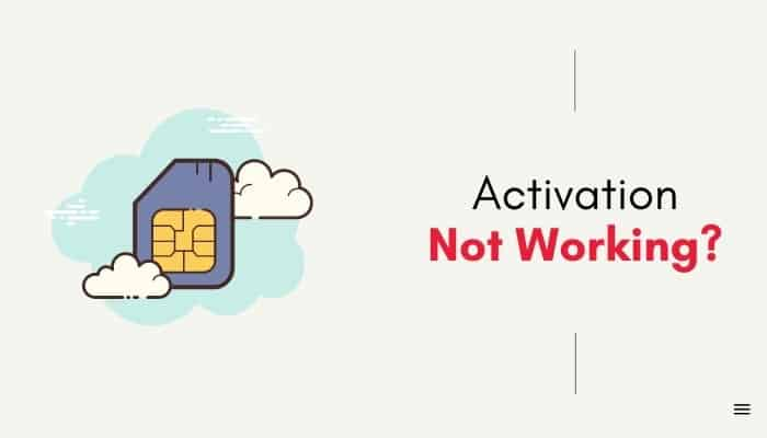 giffgaff sim activation not working