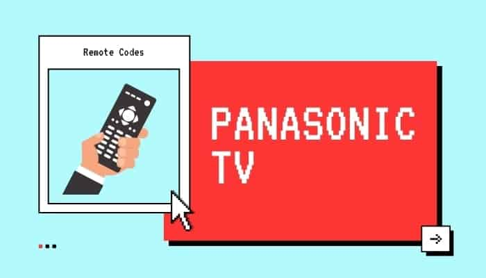 panasonic tv codes for sky remote