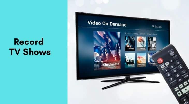 how can i record tv shows to watch later