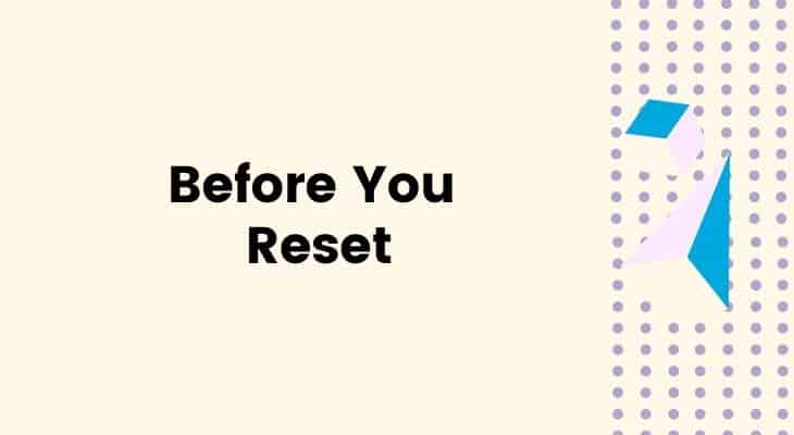before you reset youview remote