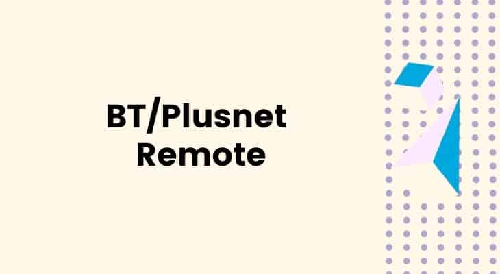 reset bt plusnet youview remote