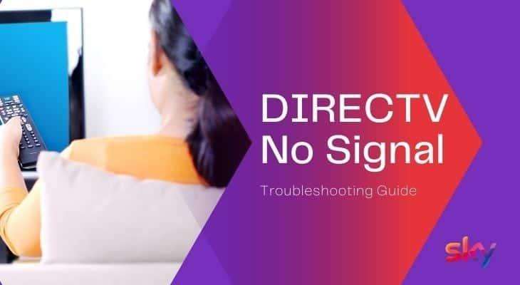 directv troubleshooting no signal