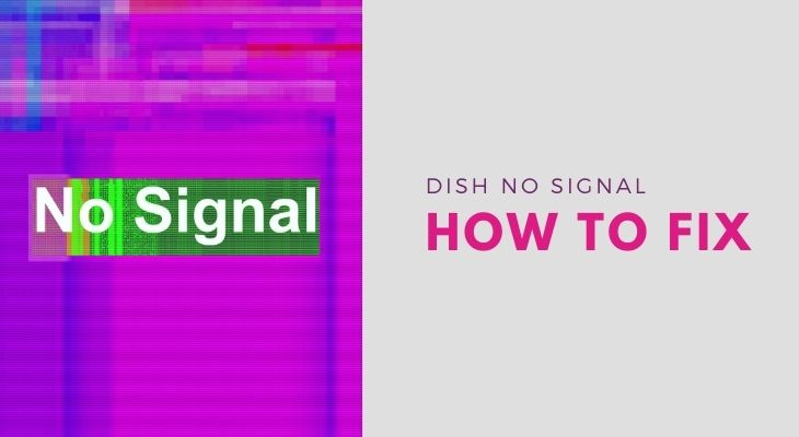 troubleshooting dish network no signal