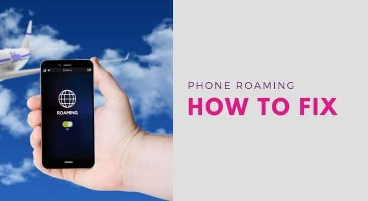 fix phone roaming