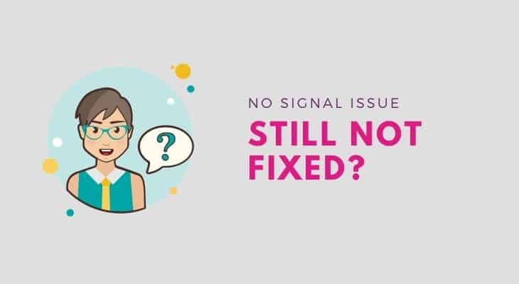directv troubleshooting no signal not working