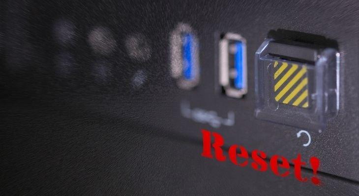reset dish receiver