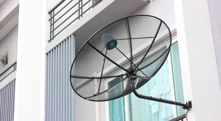 dish network satellite direction south